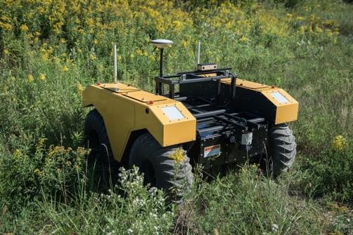 Ground robot usage in smart farming