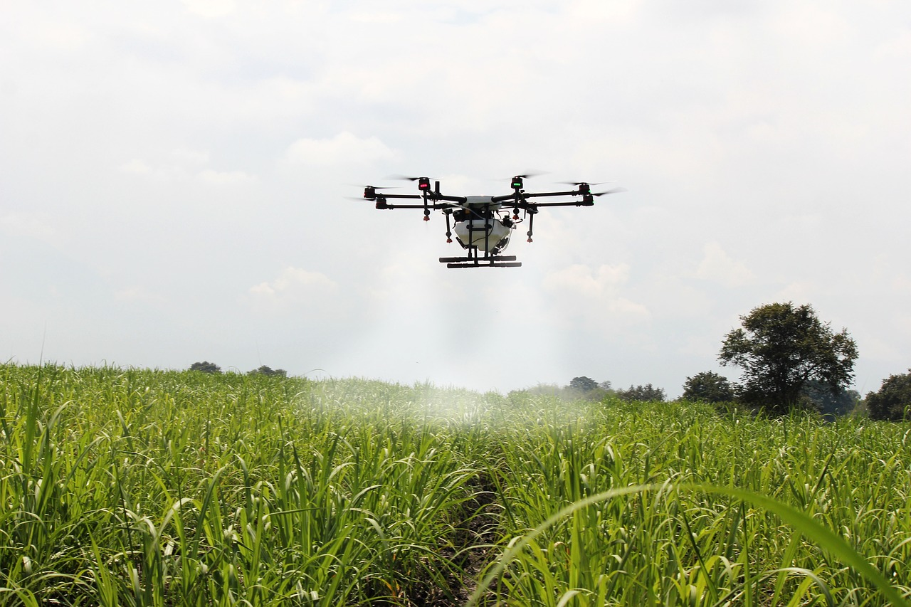 Smart Farming with Drones