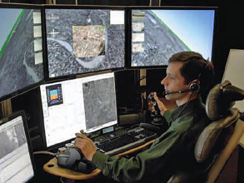 EW training simulator