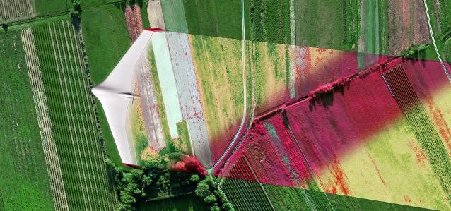 Agricoltura di precisione droni