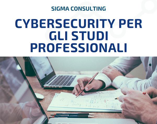Ebook PDF Cybersecurity per gli studi professionali